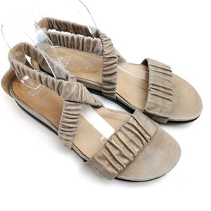 Eileen Fisher Metallic Dylan Sandals